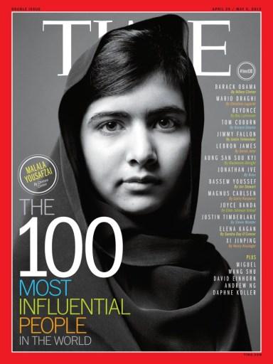 מלאלה: אחת ממאה הא/נשים המשפיעות בעולם
